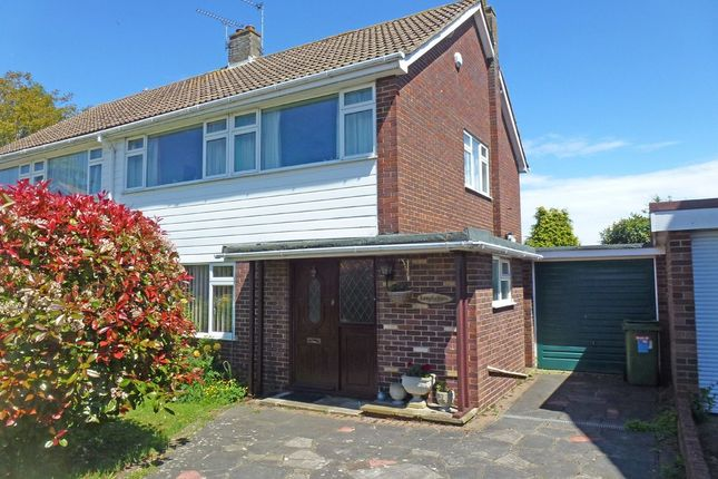 Thumbnail Semi-detached house for sale in The Warrens, Hartley, Longfield