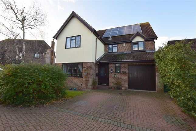 Thumbnail Detached house for sale in Barley Close, Langdon Hills, Essex