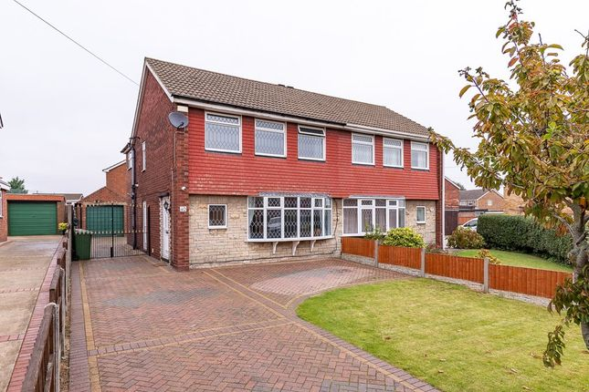 Thumbnail Semi-detached house to rent in Birchwood Road, Scunthorpe