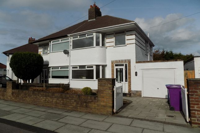 Thumbnail Semi-detached house to rent in North Barcombe Road, Childwall, Liverpool