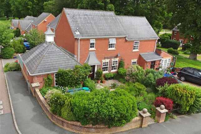 Thumbnail Semi-detached house for sale in Rowan Court, Kerry, Newtown, Powys