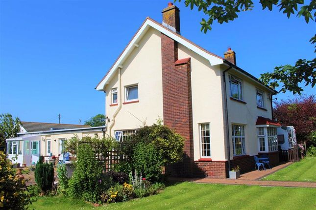 Thumbnail Detached house for sale in Southgate Road, Southgate, Swansea