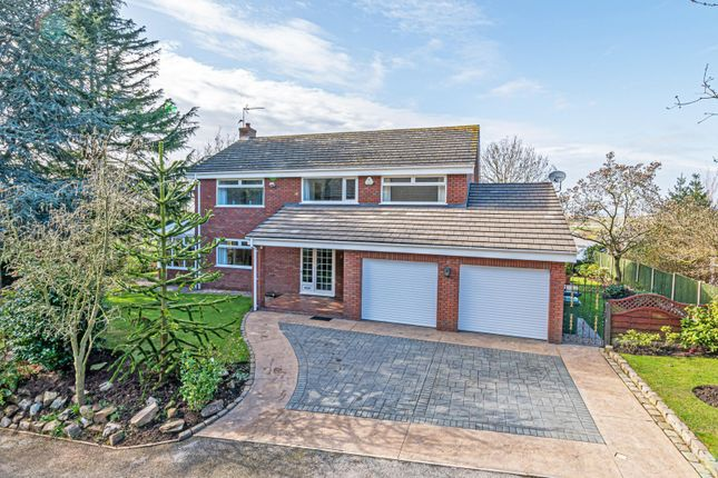 Thumbnail Detached house for sale in Hawkstone Grove, Helsby, Frodsham