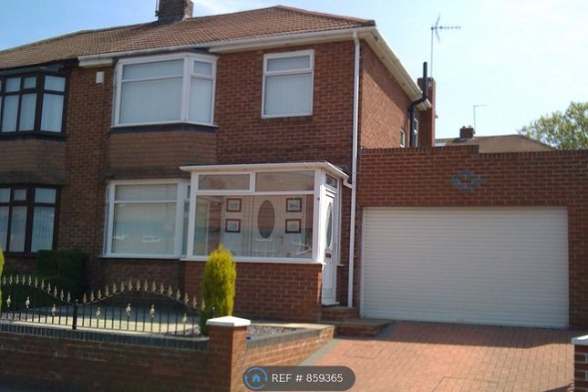 Thumbnail Semi-detached house to rent in St. Cuthberts Road, Newcastle Upon Tyne