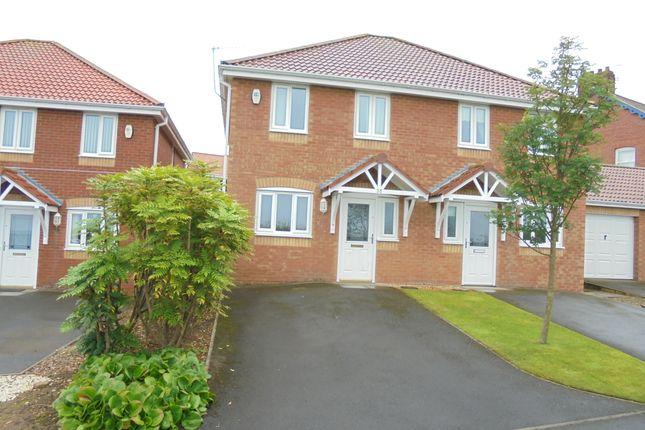 Thumbnail Semi-detached house to rent in Badminton Avenue, Skelton