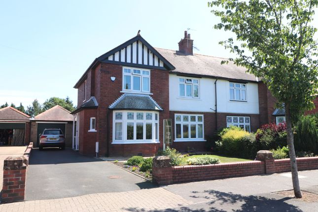 Thumbnail Semi-detached house for sale in St Aidan's Road, Carlisle