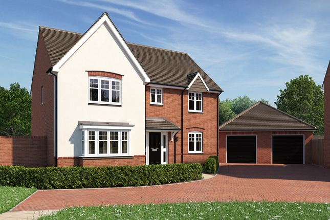 "Thumbnail Detached house for sale in ""The Cottingham"" at Moormead Road, Wroughton, Swindon"