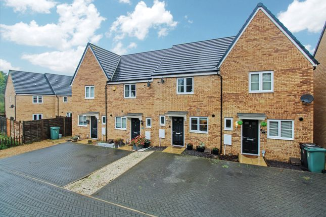Thumbnail Terraced house for sale in Moresby Way, Peterborough