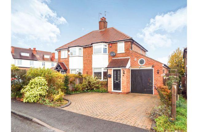 Semi Detached House For Sale In Kings Green Avenue Kings Norton Birmingham