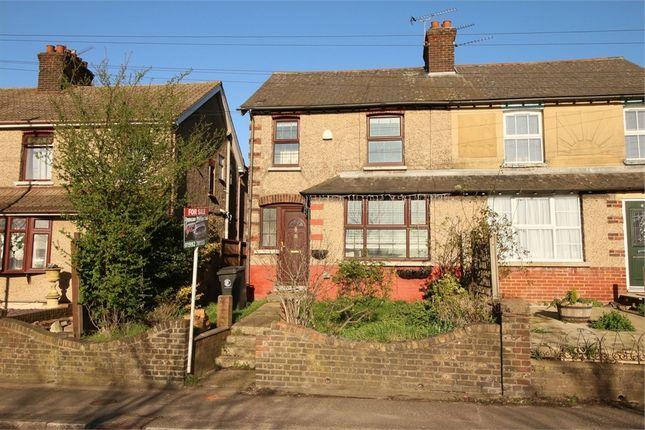 Thumbnail Semi-detached house for sale in Nobel Villas, Sewardstone Road, Waltham Abbey, Essex