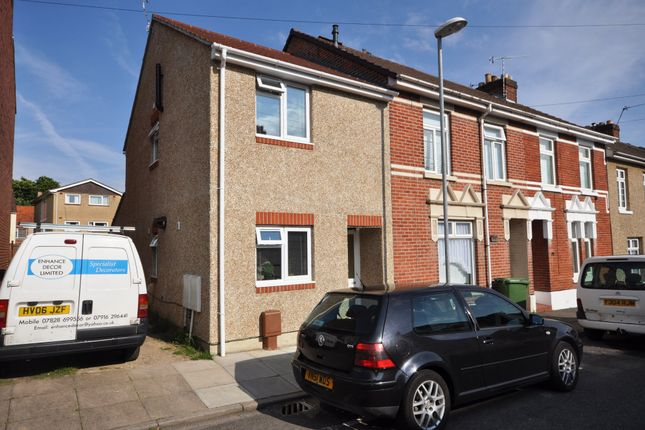 Thumbnail End terrace house to rent in Dean Road, Cosham, Portsmouth