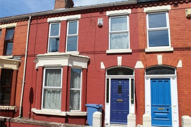 Thumbnail Terraced house for sale in Barrington Road, Wavertree, Liverpool, Merseyside