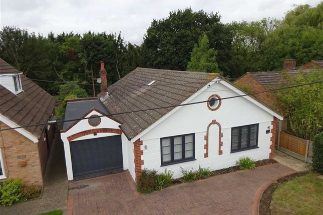 Thumbnail Bungalow for sale in Cumley Road, Toot Hill, Ongar, Essex
