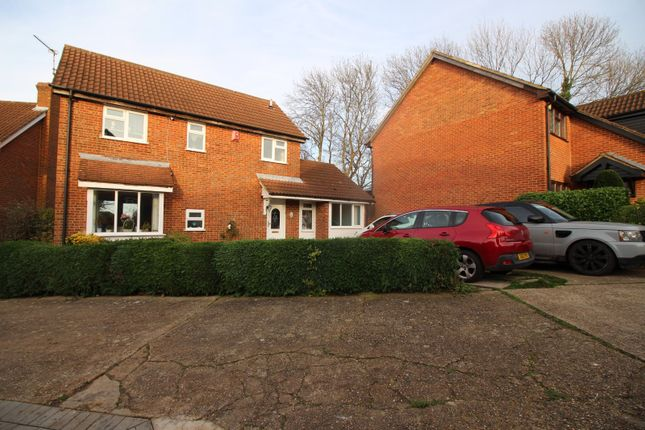 Thumbnail Detached house for sale in Cook Close, Chatham, Kent