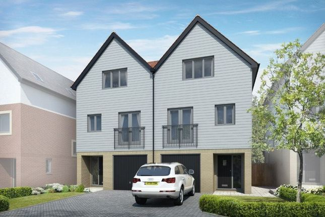 Thumbnail Semi-detached house for sale in 30% Already Reserved! Plot 23, Nautilus, Southampton Road, Portsmouth