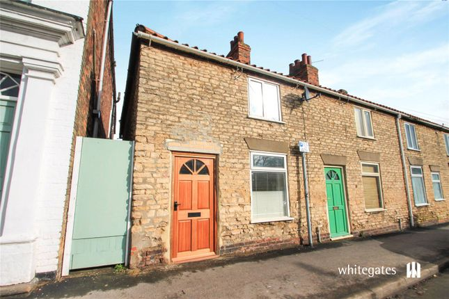 Thumbnail End terrace house for sale in High Street, Winterton, Scunthorpe, Lincolnshire