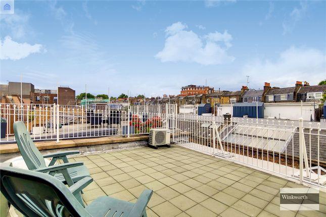 Roof Terrace of Brownlow Mews, London WC1N