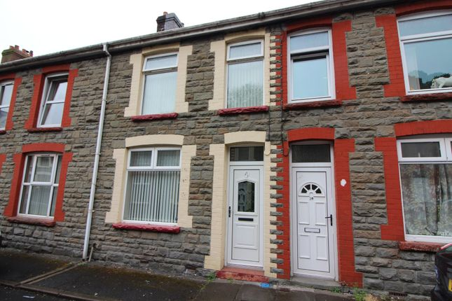 Thumbnail Terraced house for sale in Partridge Road, Llanhilleth, Abertillery