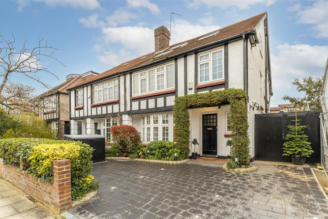 Thumbnail Semi-detached house for sale in Queen Annes Grove, Ealing, London