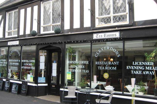 Thumbnail Restaurant/cafe for sale in 18 Mill Street, Bideford, Devon