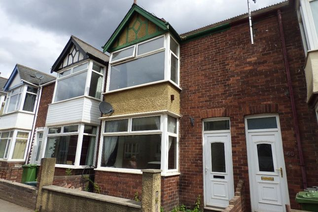 Thumbnail Terraced house to rent in Bonhay Road, Exeter