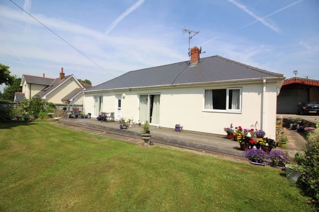 Thumbnail Detached bungalow for sale in Ayr-Y-Bryn, Llanover, Abergavenny