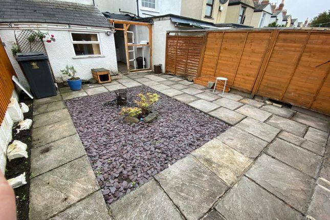 Rear Garden of Theodora Street, Splott, Cardiff CF24
