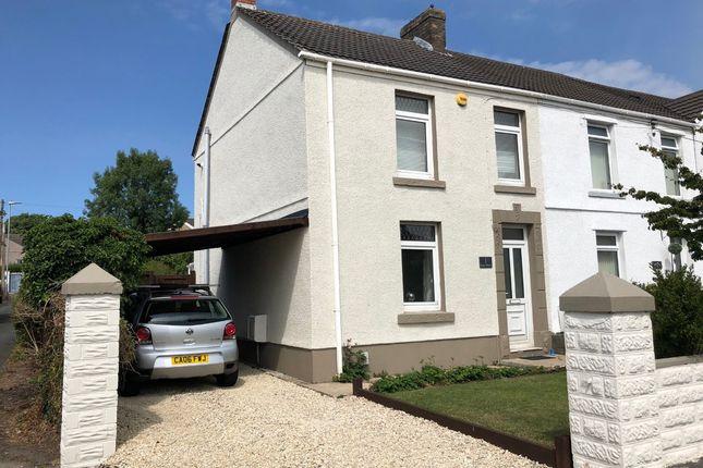 Thumbnail End terrace house for sale in Bryn Mount, Swansea, West Glamorgan