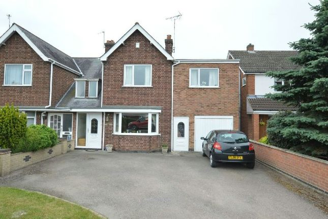 Thumbnail Semi-detached house for sale in Lutterworth Road, Blaby, Leicester