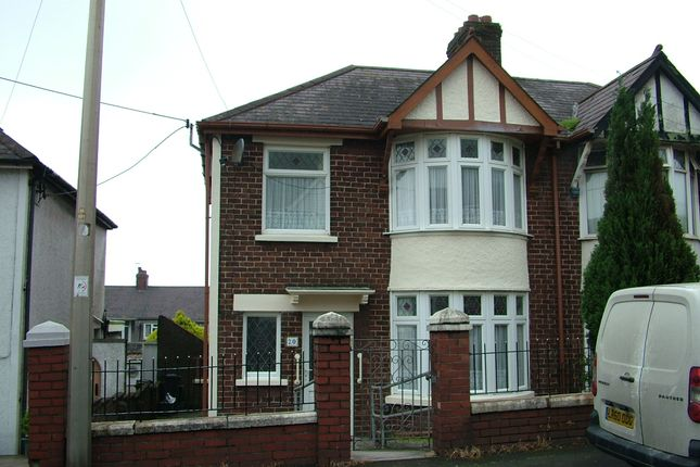 Thumbnail Semi-detached house to rent in Bracken Road, Margam