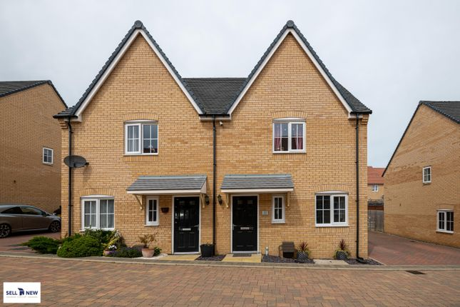 Front Elevation  of Parker Crescent, Sawtry PE28