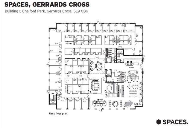 Floor_Plan of Co-Working Space Gerrards Cross, Chalfont Park, Spaces, Building 1, Gerrards Cross, Buckinghamshire SL9