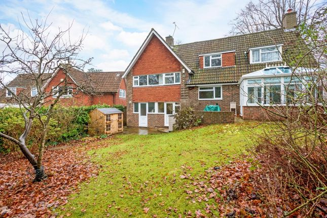 Thumbnail Detached house to rent in The Ridings, Epsom