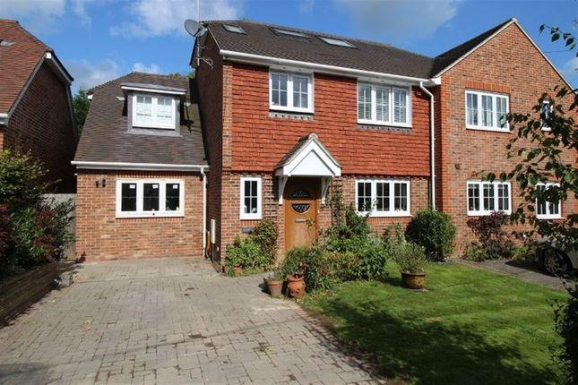Thumbnail Semi-detached house to rent in Mount Pleasant Road, Weald, Sevenoaks