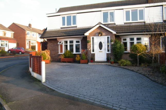 Thumbnail Semi-detached house for sale in Laycock Drive, Dukinfield