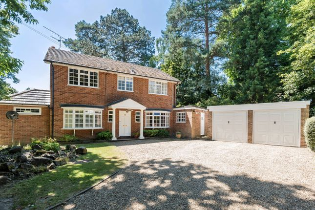 Thumbnail Detached house for sale in Purbeck Drive, Horsell, Woking