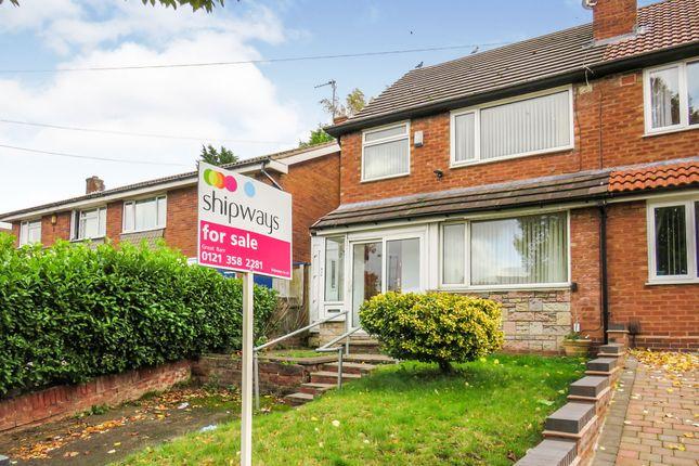 Semi-detached house for sale in Aldridge Road, Great Barr, Birmingham