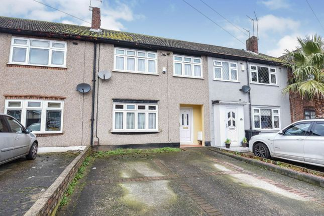 3 bed terraced house for sale in Heather Way, Rise Park, Romford RM1