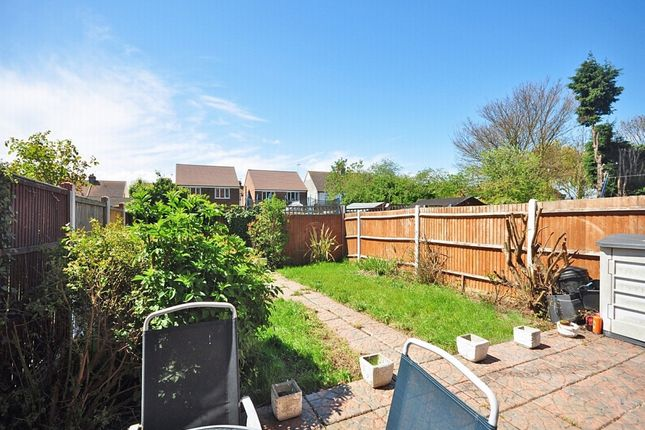 Rear Garden of William Rigby Drive, Minster On Sea, Sheerness ME12