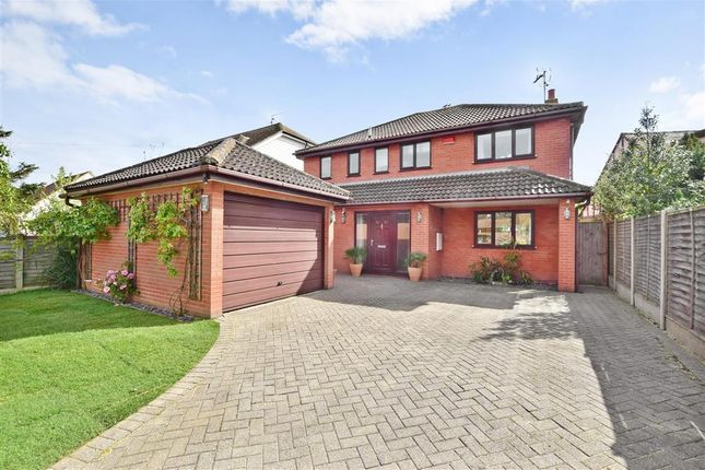 Thumbnail Detached house for sale in Hunters Forstal Road, Broomfield, Herne Bay, Kent