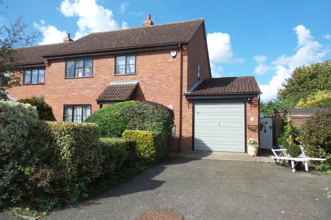 Thumbnail Semi-detached house for sale in Haughley New Street, Haughley, Stowmarket