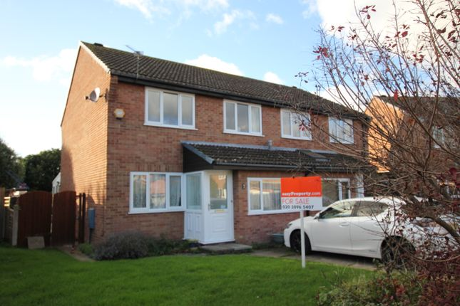 Thumbnail Semi-detached house for sale in Lysander Close, Christchurch