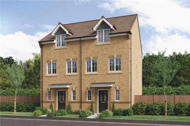 """Thumbnail Town house for sale in """"The Hardwicke"""" at Parkside, Hebburn"""