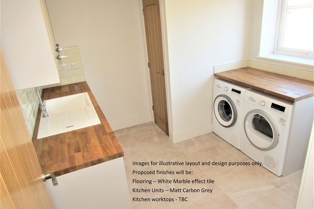 Utility Room of Plot 2 The Willows, Bryn Road, Loughor, Swansea, City And County Of Swansea. SA4