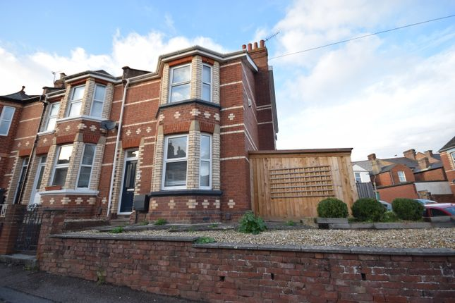 Thumbnail End terrace house to rent in St. Annes Road, Exeter