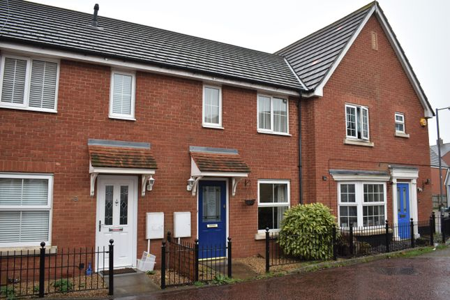 Thumbnail Terraced house to rent in Valens Close, Myland, Colchester, Essex