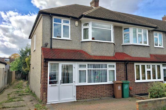 Thumbnail End terrace house for sale in Sunningdale Road, Cheam