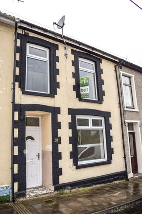 Thumbnail Terraced house to rent in Harcourt Terrace, Penrhiwceiber