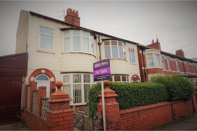 Semi-detached house for sale in Burlington Road, Blackpool