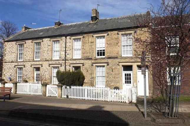 Thumbnail Terraced house for sale in Collingwood Terrace, Morpeth